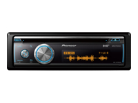 Pioneer DEH-X8700DAB Bil CD-modtager in-dash Full-DIN 50 watt x 4