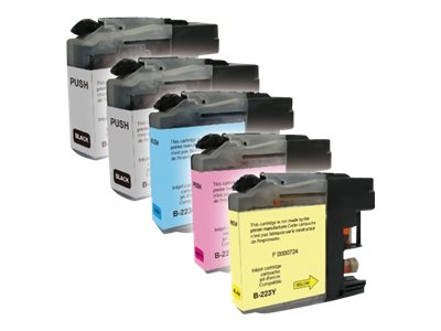 UPrint B-223-PACK - pack de 5 - noir, jaune, cyan, magenta - cartouche d'encre (alternative for: Brother LC-223BK, Brother LC-223M, Brother LC-223C, Brother LC-223Y)