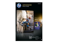 HP Advanced Glossy Photo Paper - papier photo brillant - 60 feuille(s)