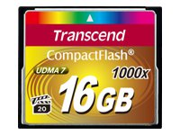 Transcend Cartes Flash TS16GCF1000
