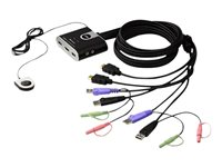 Aten 2-Port USB HD Audio/Video KVM Switch