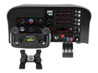 Logitech Flight Yoke System Spænde og speeder kabling for PC