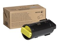 Xerox VersaLink C500 - High Capacity - yellow - original - toner cartridge - for VersaLink C500, C505
