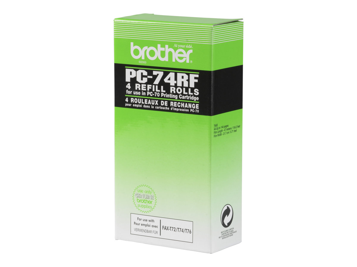 Brother PC74RF - 4 - ruban d'impression