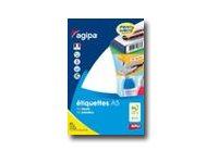 APLI-Agipa - étiquettes rondes - 3024 étiquette(s)