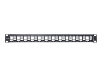 "DeLOCK Patch-panel sort 1U 19"" 24 porte"