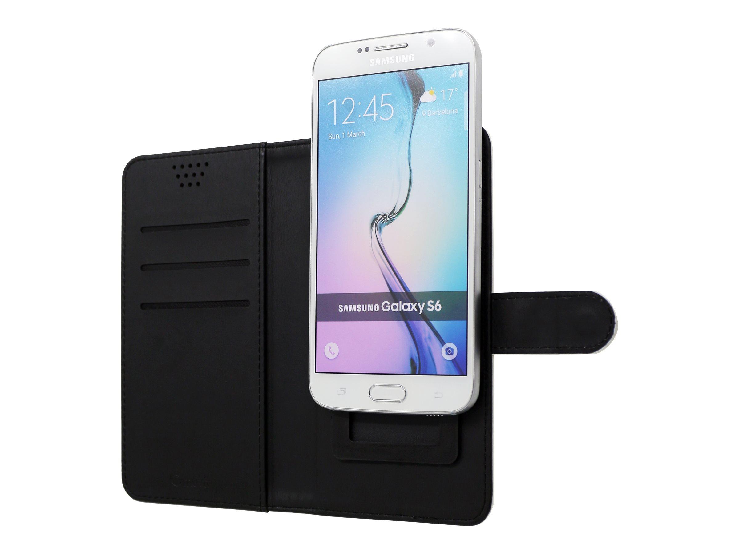 Muvit Universal Slider Case With Stand Function protection à rabat pour téléphone portable