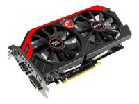 MSI Carte graphique N750TI TF 2GD5/OC