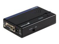 STARTECH - AUDIO VIDEO StarTech.com High Resolution VGA to Composite or S-Video ConverterVGA2VID