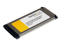 StarTech.com 1 Port Flush Mount ExpressCard SuperSpeed USB 3.0 Card Adapter
