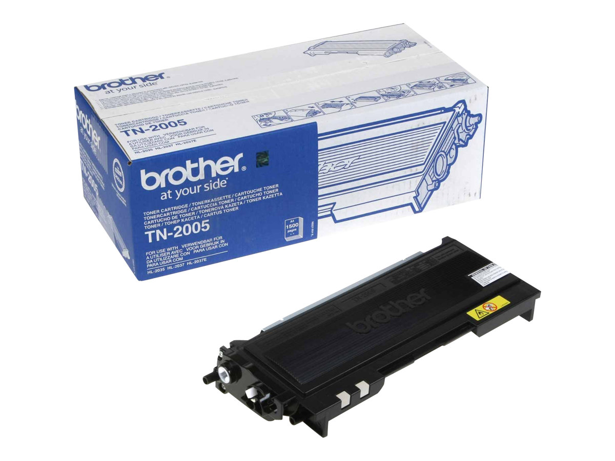 Brother TN2005 - noir - originale - cartouche de toner