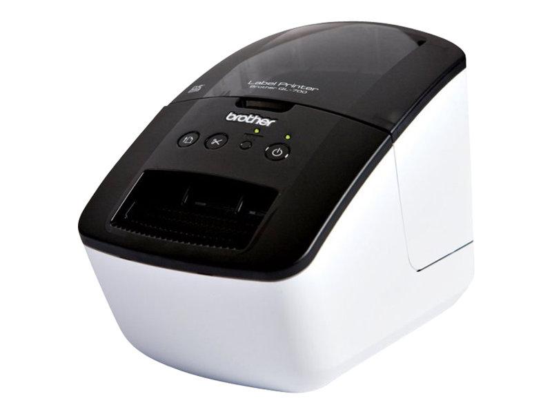 Brother QL-700 - imprimante d'étiquettes - monochrome - thermique directe