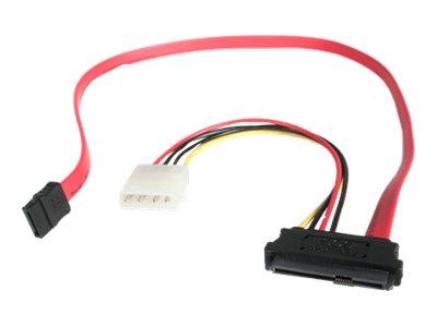 StarTech.com Adaptador Cable de 45cm Divisor SAS 29 Pines a Molex Macho LP4 y SATA