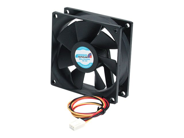 Fan8x25tx3l Startech Com 80x25mm Ball Bearing Quiet