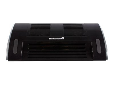 Image of StarTech.com USB Powered Laptop Cooler with 2 Built in Fans - notebook fan with 2 ports USB hub