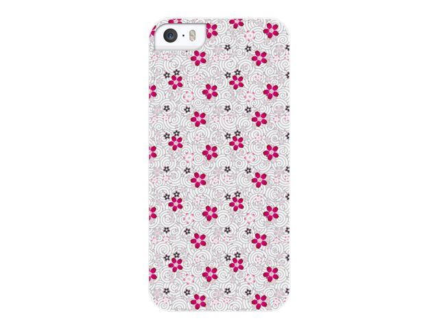 Muvit Customline Géométrique - Flower coque de protection pour téléphone portable