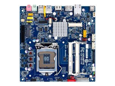 Gigabyte GA-H81TN - 1.0 - základní deska - Thin mini ITX - zásuvka LGA1150 - H81 - USB 3.0 - Gigabit LAN - vestavěná grafika (vyžaduje CPU) - HD Audio (8 kanálů)