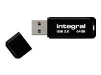 Integral NOIR - clé USB - 64 Go