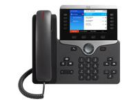 Cisco IP Phone 8861 VoIP-telefon IEEE 802.11a/b/g/n/ac (Wi-Fi)