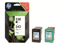 HP - INKJET SUPPLY HIGH VOLUME HP 338/343SD449EE