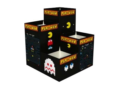 Quo Vadis Pac-Man ensemble de boîtes à crayons