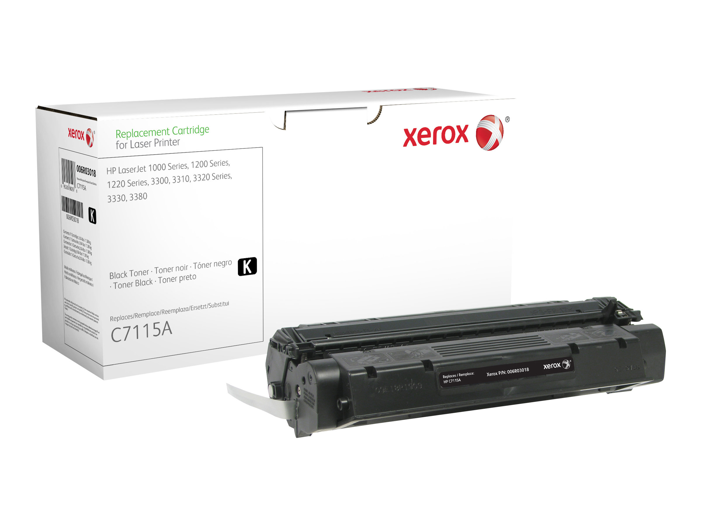 Xerox - noir - cartouche de toner (alternative pour: HP C7115A)