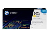 HP 307A - Yellow - original - LaserJet - toner cartridge (CE742A) - for Color LaserJet Professional CP5225, CP5225dn, CP5225n