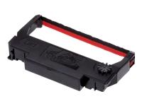 Epson ERC 38BR - 1 - noir, rouge - ruban d'impression
