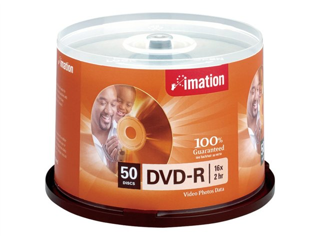 Imation 50Pk Dvd-R 4.7Gb 16X Spindle