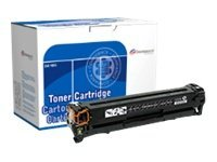 Image of Dataproducts - black - remanufactured - toner cartridge ( replaces HP 125A )