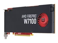 AMD FirePro W7100 - Graphics card - FirePro W7100 - 8 GB GDDR5 - PCIe 3.0 x16 - 4 x DisplayPort - for Workstation Z440, Z640, Z840