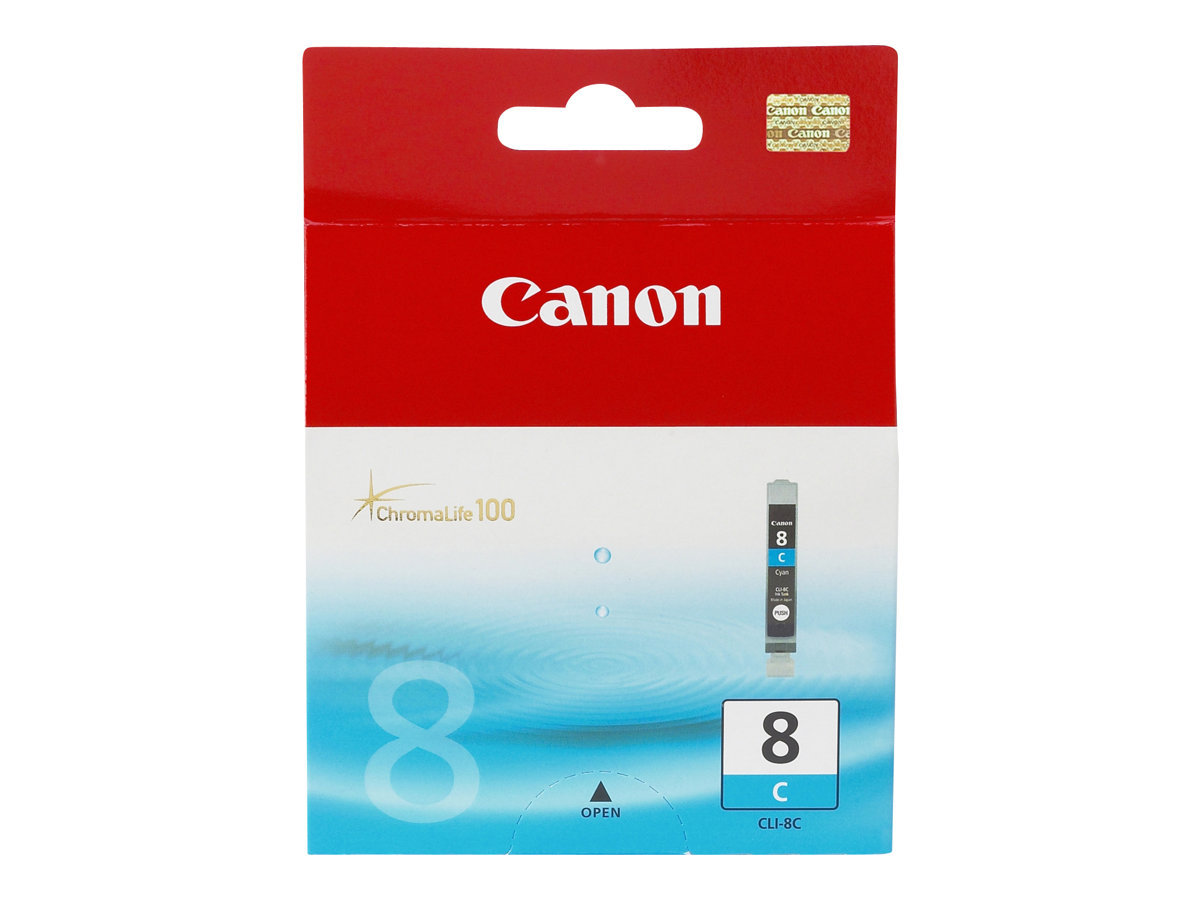 Canon CLI-8C - cyan - originale - réservoir d'encre