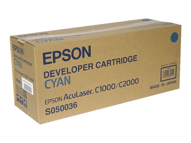 Epson S050036 - cyan - originale - cartouche de développeur
