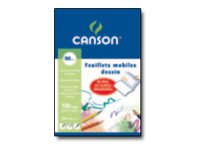CANSON - A4+ - Copies simples - 24 x 32 - 100 pages - Unis