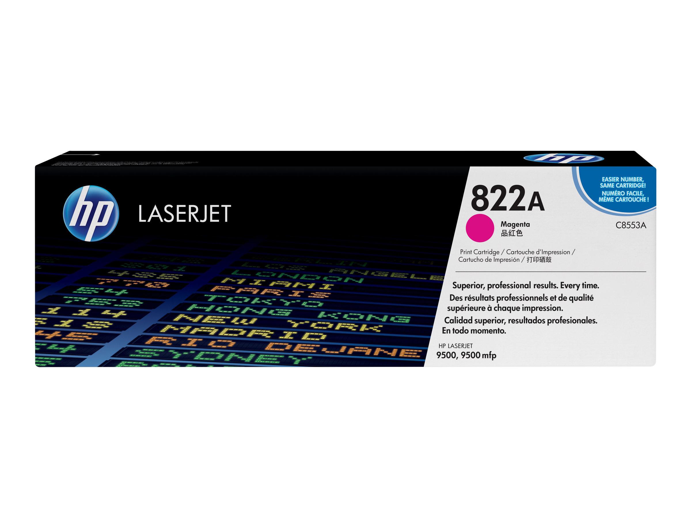 HP 822A - magenta - originale - LaserJet - cartouche de toner (C8553A)