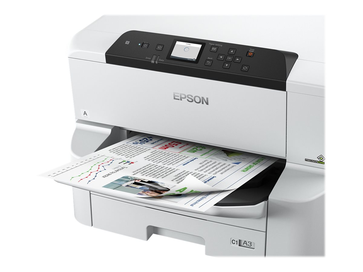 DCS - A3 Printer - Epson WorkForce Pro WF-C8190DTW Blækprinter