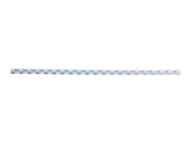 GBC CombBind - 100 unités - peigne de reliure en plastique