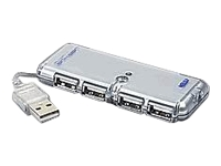 Sabrent SBT-U2HA USB 2.0 Ultra Slim Self Powered Mini HUB