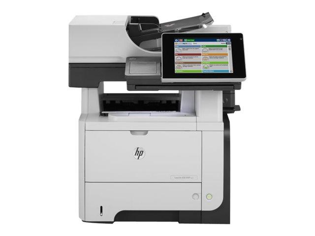 Image of HP LaserJet Enterprise flow MFP M525c - multifunction printer ( B/W )