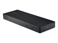 HP USB-C Dock G4 - Docking station - USB-C - HDMI, 2 x DP - GigE - 90 Watt - Smart Buy - United States - for Elite Dragonfly; Elite x2; EliteBook x360; Mobile Thin Client mt45; ZBook 15 G6, 17 G6