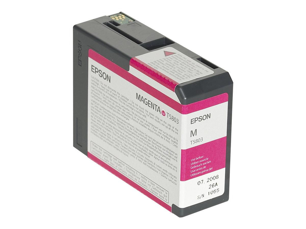 Epson T5803 - magenta - originale - cartouche d'encre