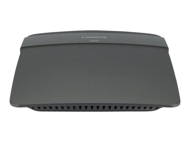 Image of Linksys E900 - wireless router - 802.11b/g/n - desktop