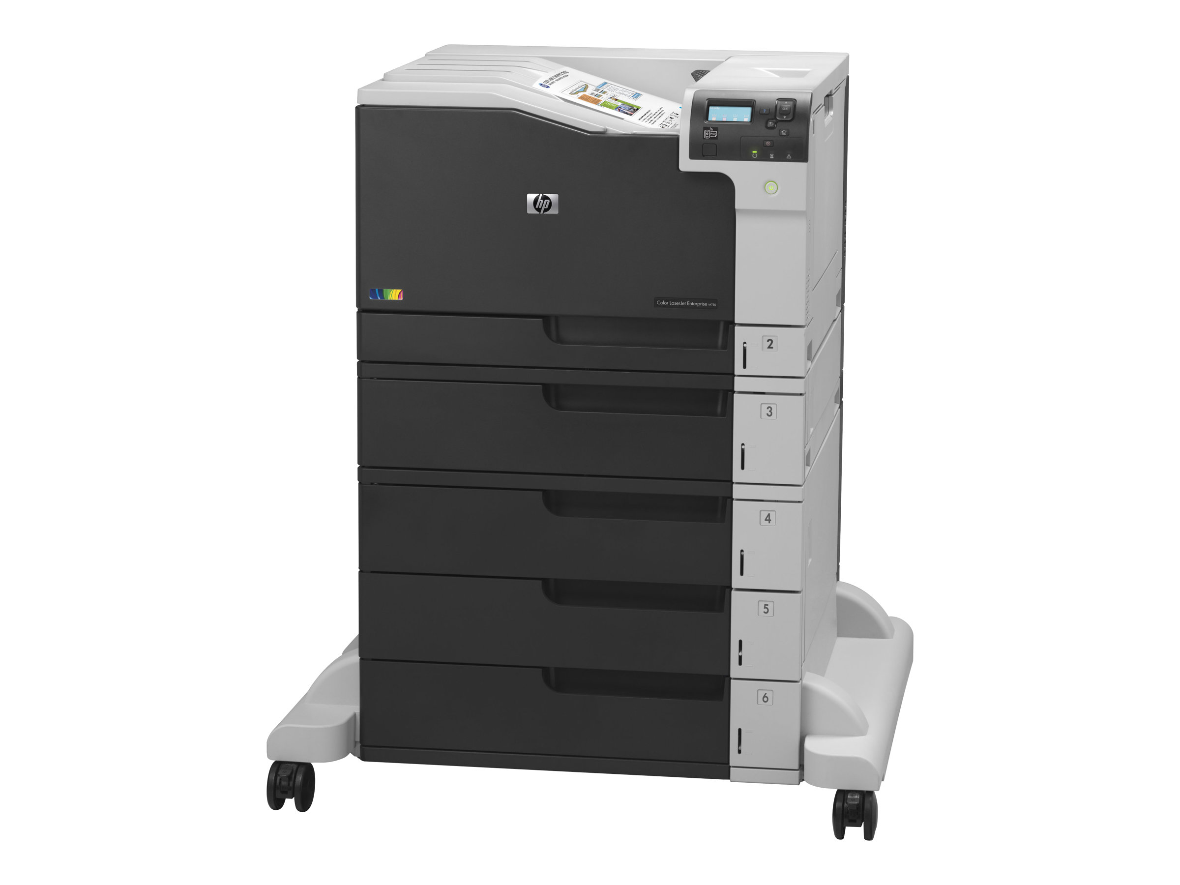 HP Color LaserJet Enterprise M750xh - imprimante - couleur - laser