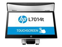 HP L7014t Retail Touch Monitor - LED monitor with KVM switch - 14