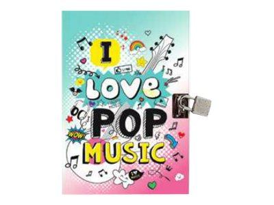Oberthur I LOVE MUSIC Pop - jounal intime