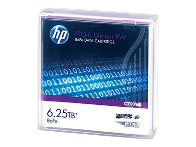 HPE ULTRIUM RW DATA CARTRIDGE LTO ULTRIUM 6 6.25 T