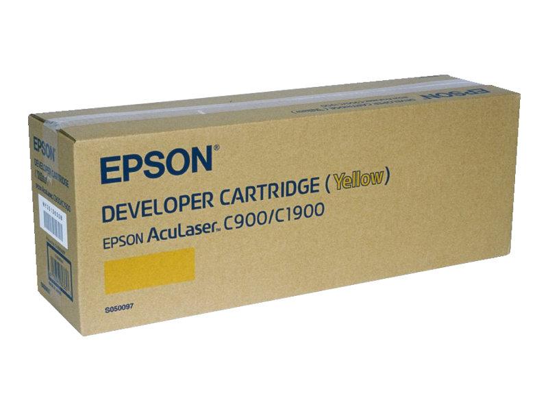 Epson S050097 - jaune - originale - cartouche de développeur