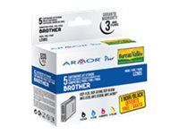 Armor K10173 - pack de 5 - noir, jaune, cyan, magenta - cartouche d'encre (alternative for: Brother LC985Y, Brother LC985BK, Brother LC985C, Brother LC985M)