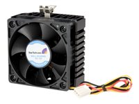 STARTECH - COMPUTER PARTS StarTech.com 65x60x45mm Socket 7/370 CPU Cooler Fan w/ Heatsink & TX3 connectorFAN370PRO