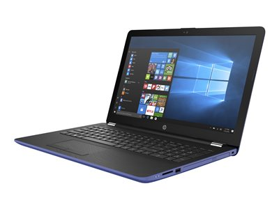 "HP 15-bw069nr - A9 9420 / 3 GHz - Windows 10 Home - 4 GB RAM - 1 TB HDD - DVD-Writer - 15.6"" 1366 x 768 (HD) - Radeon R5 - pattern, HP finish in marine blue with woven texture and ash silver in the strata - kbd: US"